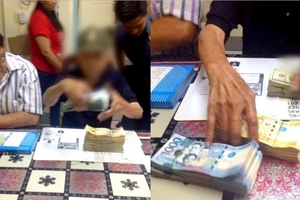 Patrolling police shocked upon spotting 91-year-old man carrying more than P1.5M along EDSA