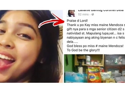 Netizens bless and praise Maine Mendoza for her extreme generosity after she did THIS! Find out the most AMAZING way Maine spent her bday!