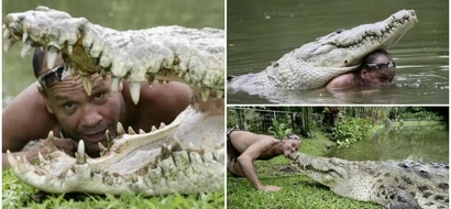 Read the incredible story of the man who lived with a 450kg crocodile for 20 years