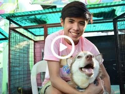 Kilalanin siya! 'Dog hero' na si Raevin Bonifacio ikinuwento kung paano niya iniligtas at pinaganda ang sugatang aso
