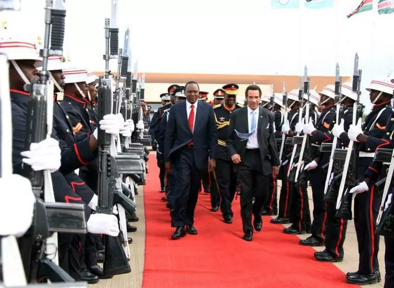 Uhuru Kenyatta to visit Botswana for 3 days