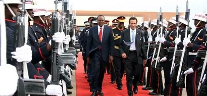 Uhuru Kenyatta to leave the country for 3-day international visit