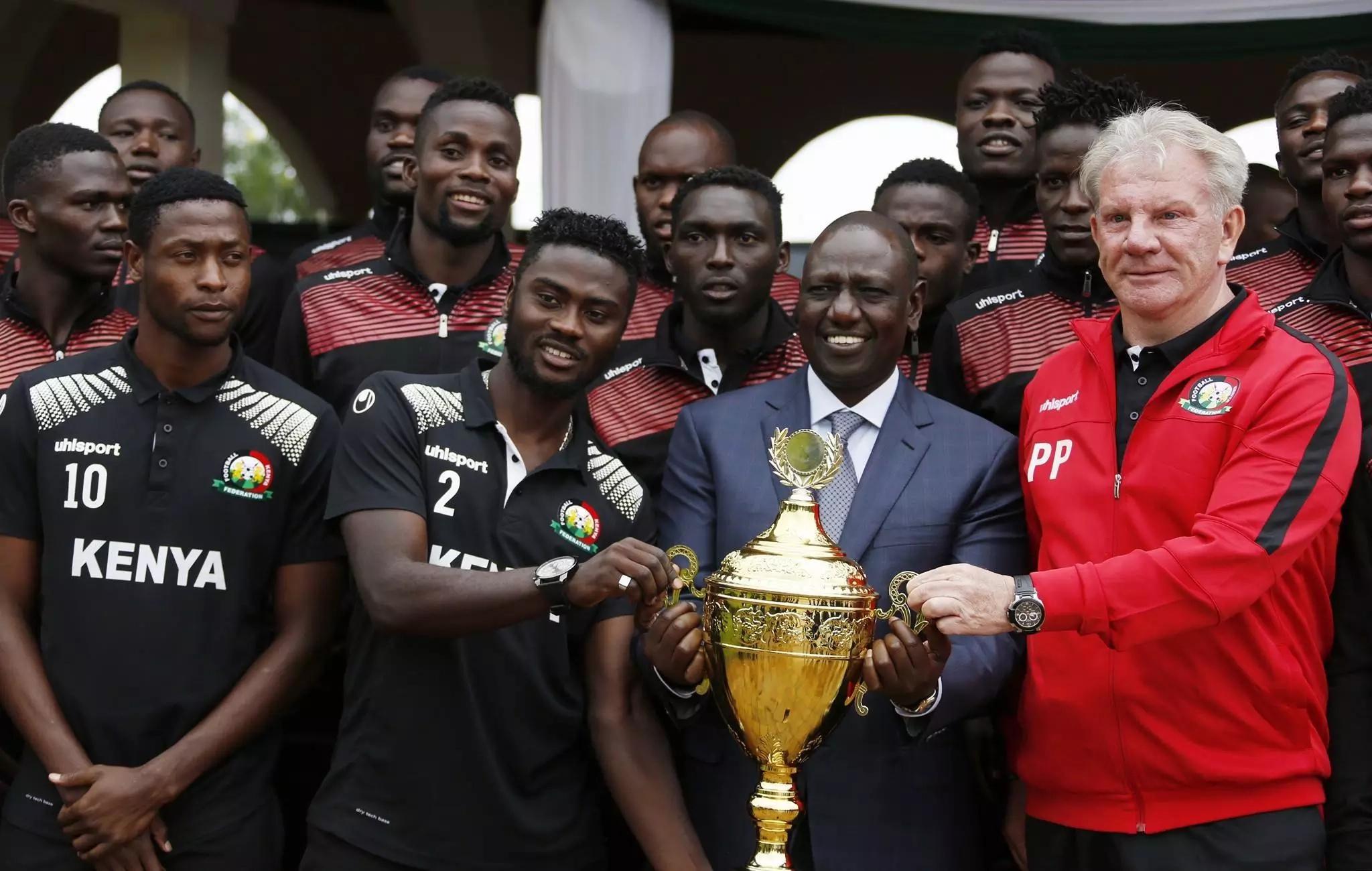 William Ruto aiahidi Harambee Stars basi jipya na Kshs 50 milioni