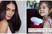Pia Wurtzbach was surprised when she saw her niece Lara comment on her Instagram post. Turns out it wasn't the adorable little girl!