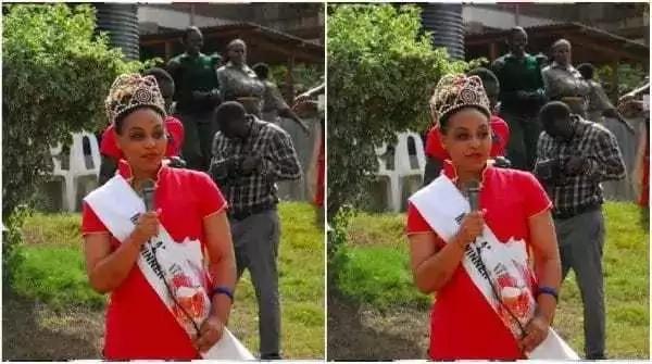 Mfungwa mrembo zaidi katika gereza la wanawake la Lang'ata awazuzua wengi siku ya Valentine