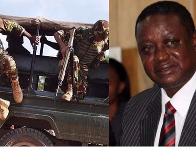 Fear as Raila's brother exposes how the KDF will be used in NASA strongholds from July 28