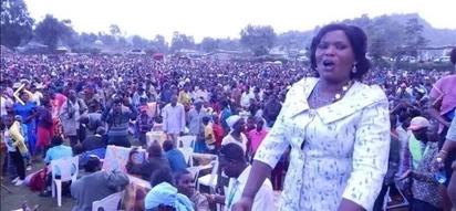Mwakilishi wa wanawake wa Jubilee matatani kwa kumpatia bwanake kazi
