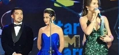 Kinilig sya! Luis Manzano tinukso nang makasama si Jennylyn Mercado sa stage