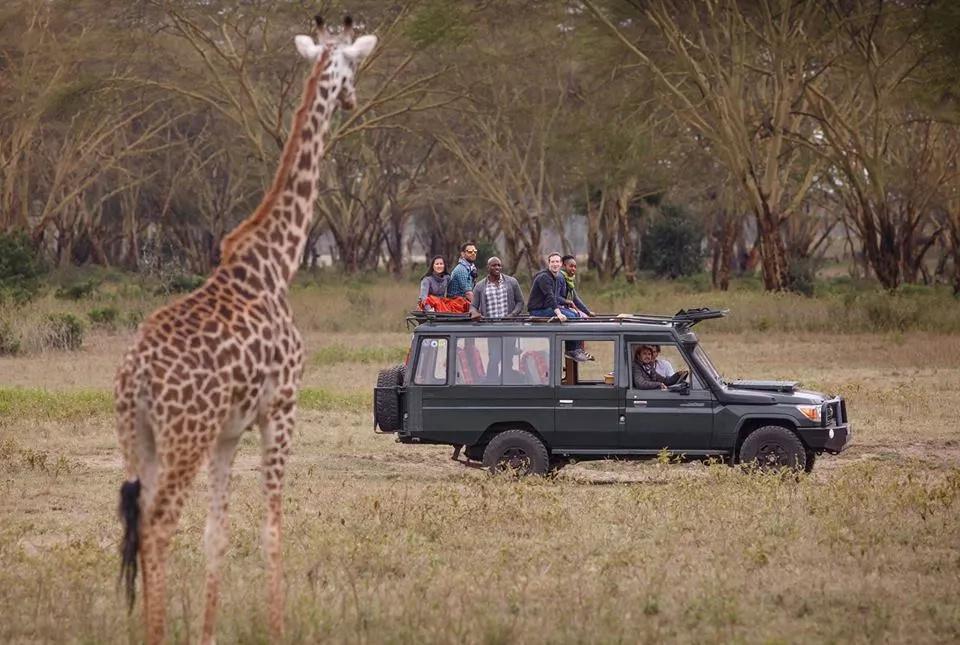 Mark Zuckerberg blown away by Kenya's nature