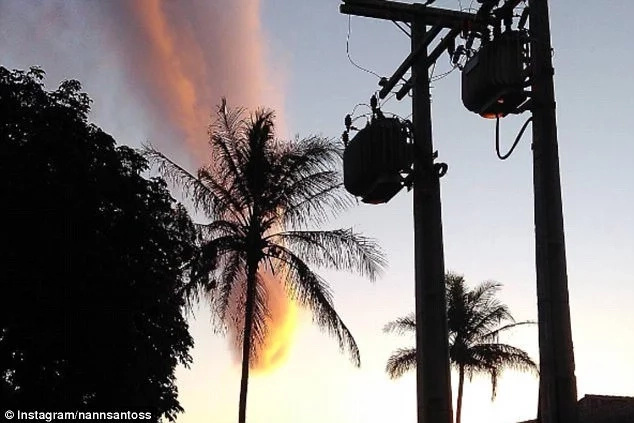 A dazzling yet bizarre sandstorm caused panic in Brazil as city dwellers thought it was tornado
