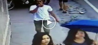 Dangerous Pinoy snatcher in Bulacan caught on CCTV stealing from unsuspecting girl
