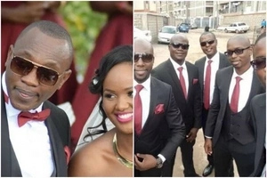 NTV news anchor Ken Mijungu marries hostess girlfriend in a colorful wedding ceremony (Photos)