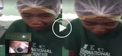 Kawawa si Kuya: Young boy suffers from severe burns after his 'vape' exploded