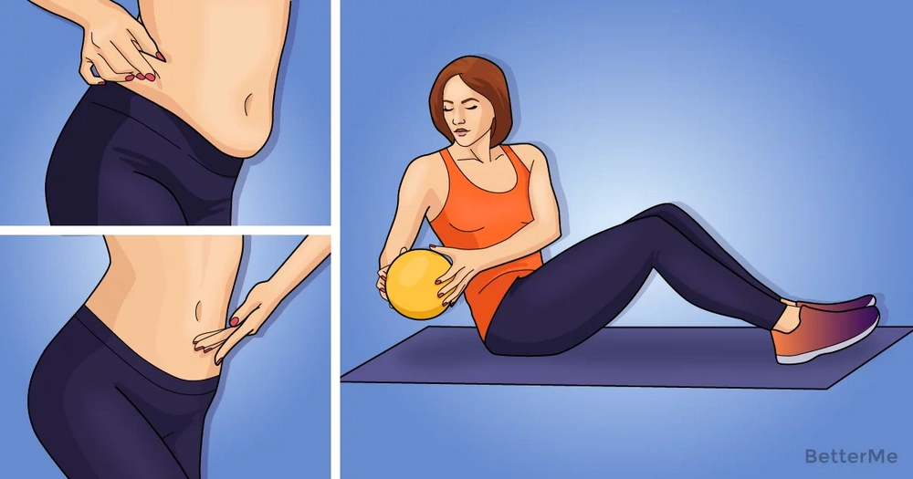 8 simple exercises that can help you reduce belly size