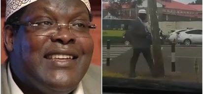 Kenyans thrown into confusion as Miguna Miguna lookalike mysteriously appears in Nairobi streets