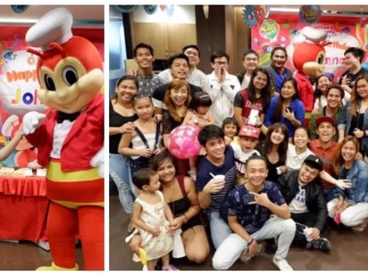 Kid at heart pa rin! Kiray Celis celebrates her 22nd birthday, kiddie party-style at a popular fast food chain