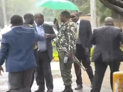 Hivi ndivyo viongozi wa Machakos walivyonyesheana makonde hadharani (video)
