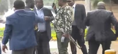 Vita vyazuka katika Bunge (video)