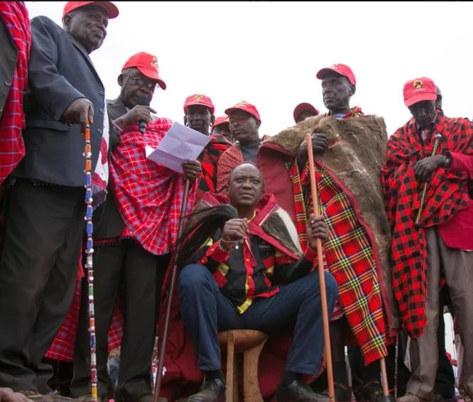 Wamaasai yamwidhinisha Uhuru siku moja baada ya kuunga mkono Raila