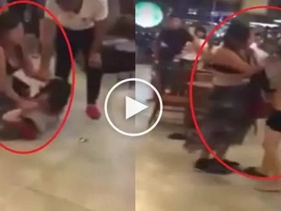 Buti nga sayo! Pinay beats mistress while dating her husband in a fancy resto