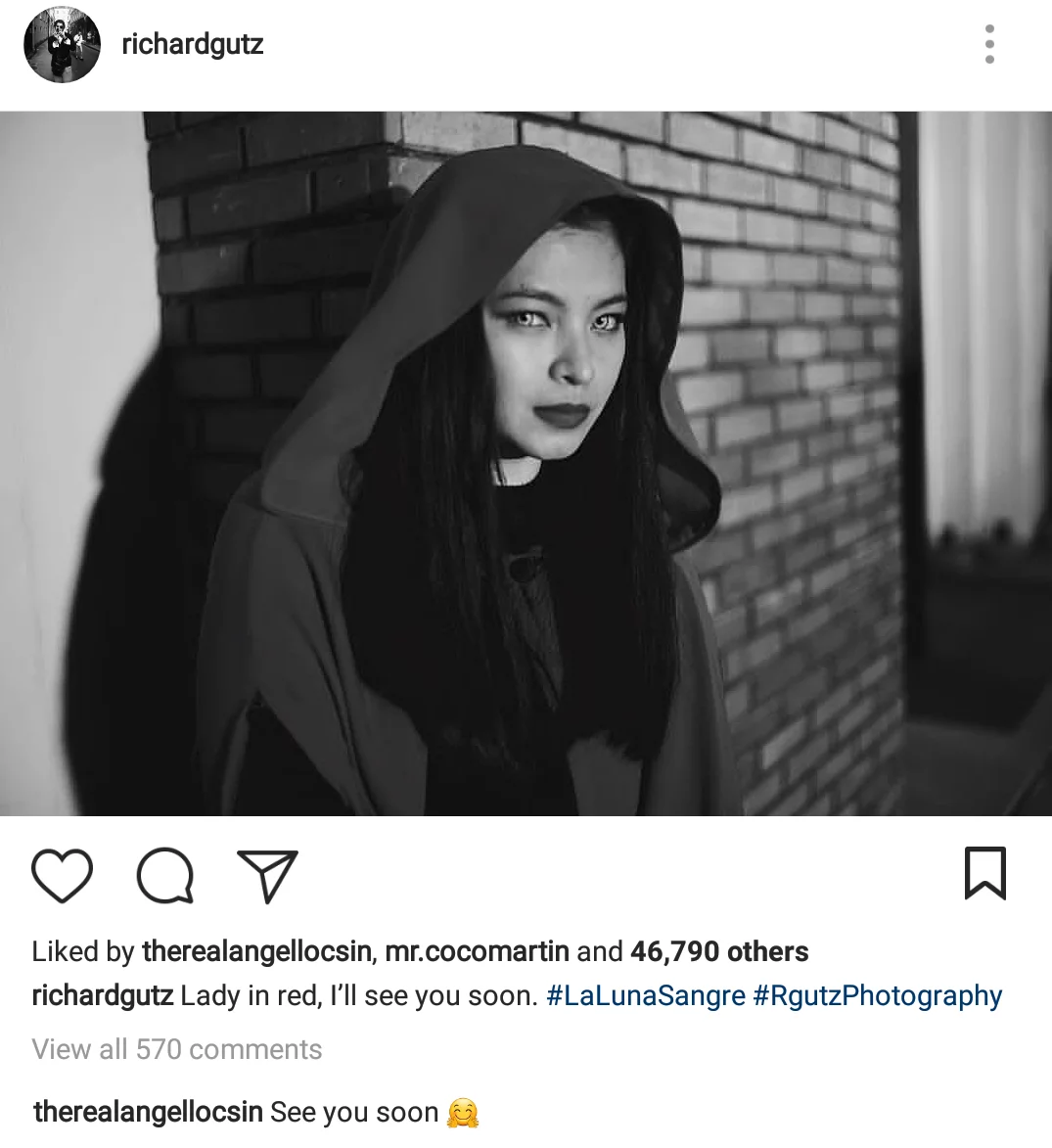 Iba pa din ang ChardGel! Richard Gutierrez's farewell message to Angel Locsin will give you all the 'kilig' feels