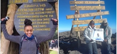 Brave woman climbs Mt. Kilimanjaro to raise funds and honor husband who died while climbing it