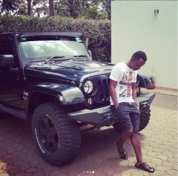 Forget about Jaguar, meet the youngest Kenyan dancehall star with a KSh 400 million mansion and super expensive rides