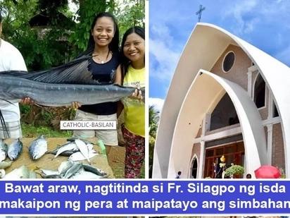 Walang imposible sa taong may pananampalataya! Pari nagtinda ng isda para maipatayo ang P9 million simbahan sa Basilan