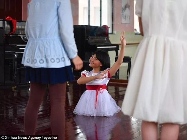 Little ballet dancer with no legs makes the performance of a lifetime