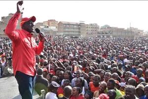 Ruto na wanasiasa wa Jubilee wapigiwa kelele Nairobi (picha)