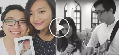 Pregnant Filipina loses baby in car accident; grieving husband sings heartbreaking lullaby at wake