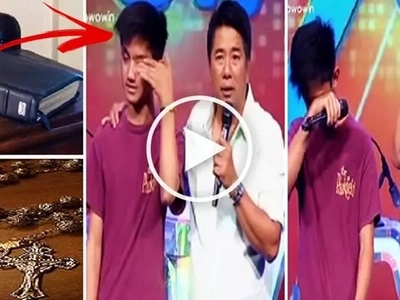 This religious Pinoy teen gave Willie Revillame a Bible & a Rosary. But what Willie decided to give him in return will blow your mind!