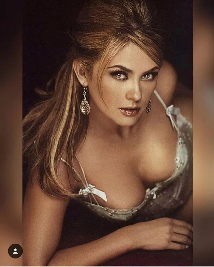 Aracely Arámbula se muestra sensual en ropa interior