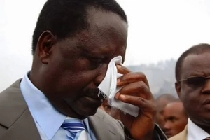 Shock for Raila as ODM politicians fight in his presense
