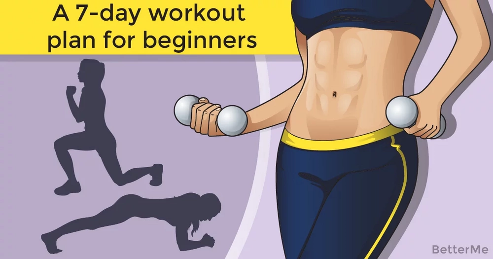 A 7-day workout plan for beginners