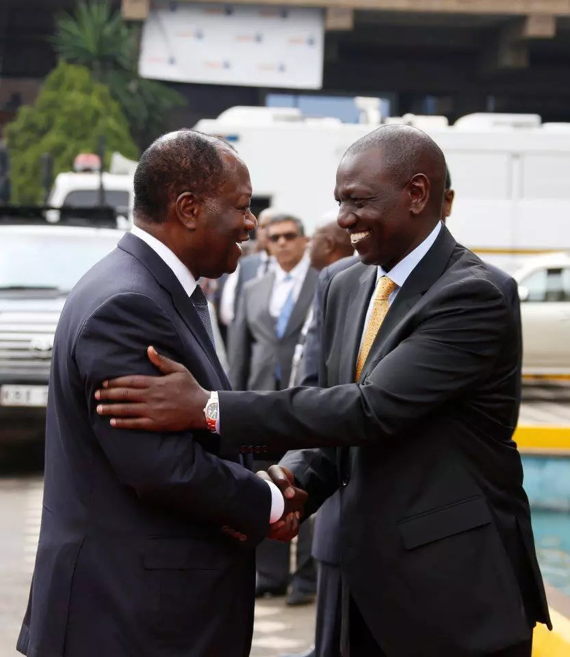How DP Ruto welcomed 23 presidents to TICAD VI in Nairobi