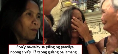 Napakabuti ng tadhana! Woman separated from family for 40 years finally reunited with long lost family!