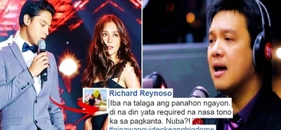 Bitter ba siya? Veteran singer Richard Reynoso lambasted Daniel Padilla's Binibining Pilipinas performance. Check out his harsh comments!