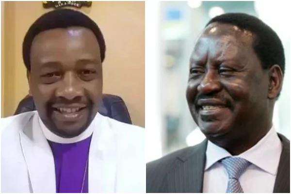 Mchungaji maarufu Nairobi adai maisha yake yamo hatarini baada ya kumtisha Raila