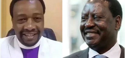 Raila is mocking the Bible in his campaigns- City pastor claims