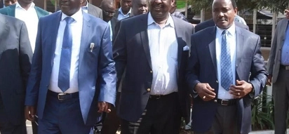 Raila Odinga amewachwa peke yake na vinara wenza?