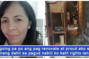 Nakaka inspire talaga! An OFW shares a glimpse of her hard-earned property