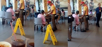 This Jollibee Crew Was Caught On Camera Feeding An Old Man Inside The Fast Food Chain! Watch The Video Here!