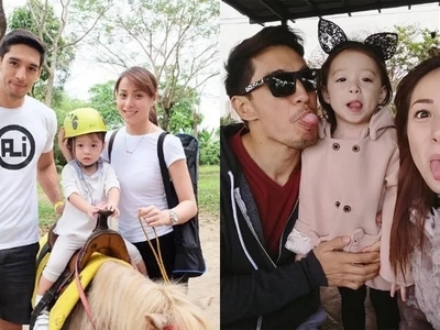 8 family photos of Cristine, Ali, and Amarah that make us jealous of their genes