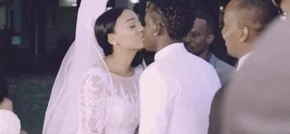 Willy Paul ALIMBUSU Alaine wakati wa kurekodi video ya wimbo 'I do'?