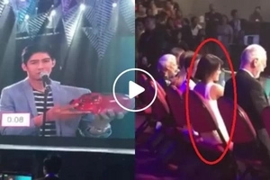 Robi Domingo melts hearts during Bb. Pilipinas pageant as he expressed his love for judge Gretchen Ho in front of the crowd