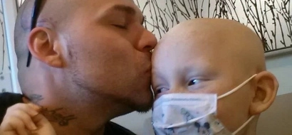 LOOK: What this dad did for his son with cancer will surely touch your heart!