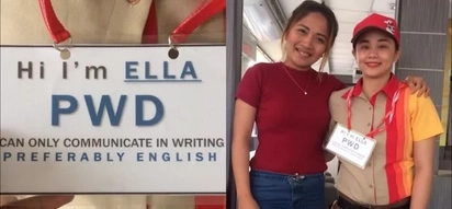 Jollibee does it again! Netizen posts heartwarming photo with deaf employee