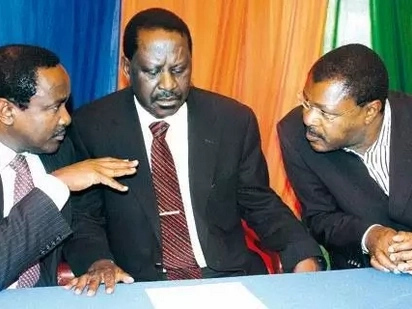 Kalonzo, Wetangula and Musalia simply chickened out of Raila swearing-in - Orengo