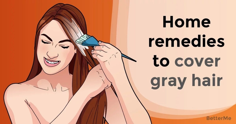 Home remedies to cover gray hair